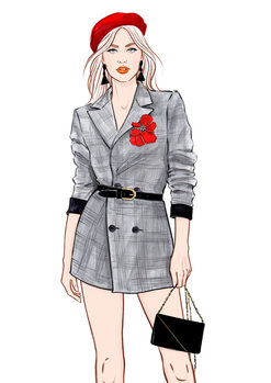 Illustration Look