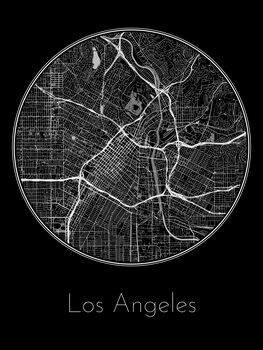 Carte de Los Angeles