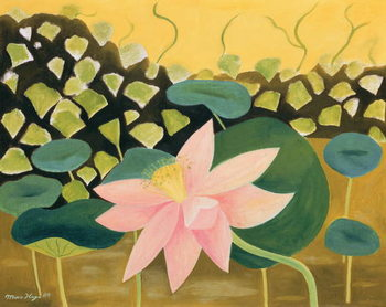 Lotus Flower, 1984 Reproduction de Tableau