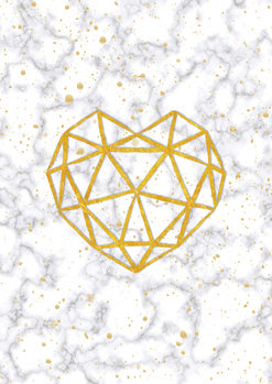 Ilustrácia Marble Heart