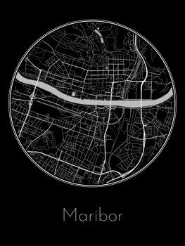 Mapa de Maribor