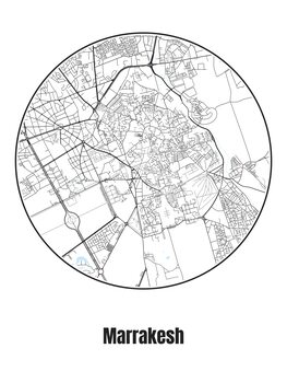 Carte de Marrakesh