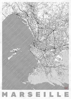 Mapa de Marseille