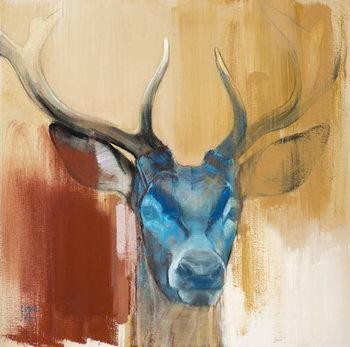 Mask (young stag), 2014, Kunstdruk