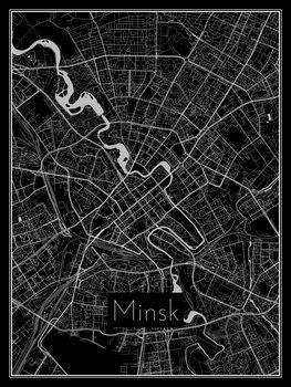 Mapa de Minsk