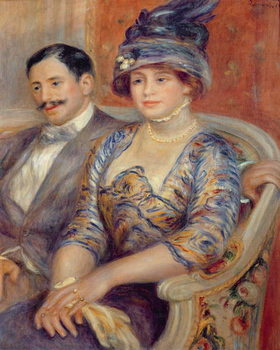 Monsieur et Madame Bernheim de Villers, 1910 Kunstdruk