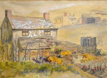 Moorland Cottage,2014 Reproduction de Tableau