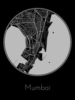 Mapa Mumbai