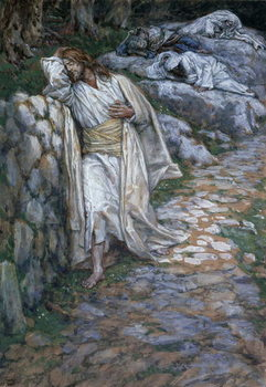 My Soul Is Exceeding Sorrowful Unto Death, illustration for 'The Life of Christ', c.1884-96 Reproduction de Tableau