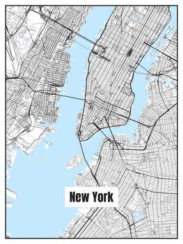 Mapa de New York