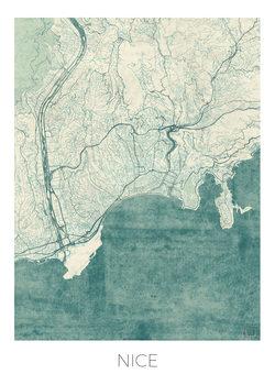 Mapa de Nice