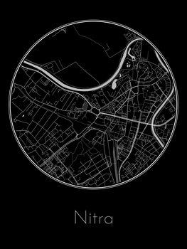 Mapa de Nitra