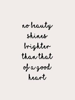 iIlustratie No beauty shines brighter