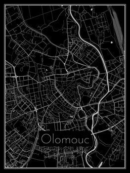 Mapa de Olomouc