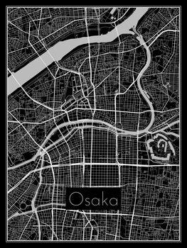 Mapa de Osaka