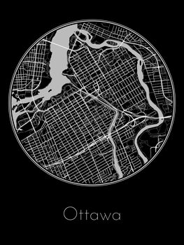Mapa de Ottawa