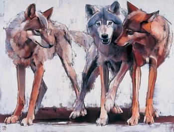 Pack Leaders, 2001 Kunstdruk