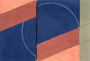 Reproducción de arte Painting - Interrupted Circle, 2000