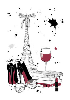 Illustration Paris Style