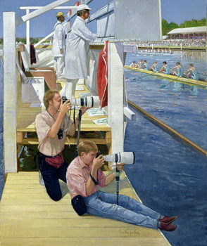 Passing the Scoreboard, Henley Kunstdruck