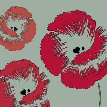 Reproducción de arte Picnic Poppy, 2005