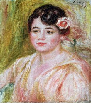 Portrait of Adele Besson, 1918 Kunstdruck