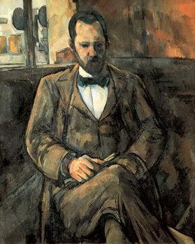 """""""Portrait of Ambroise Vollard (1866-1939) art dealer Reproduction de Tableau"""