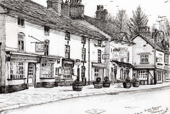 Post office Prestbury, 2009, Reproduction de Tableau