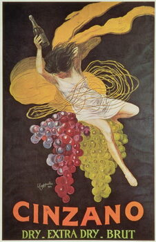 Reproducción de arte Poster advertising 'Cinzano', 1920