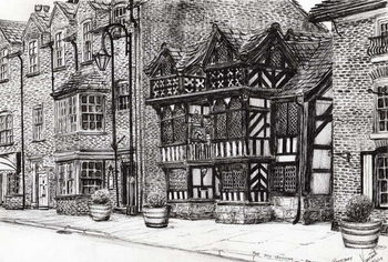 Prestbury NatWest Bank, 2009, Reproduction de Tableau