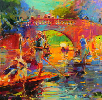 Reproducción de arte Punts, Clare Bridge