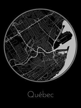 Mapa de Québec
