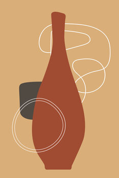 iIlustratie red bottle