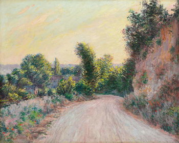 Road; Chemin, 1885 Reproduction de Tableau