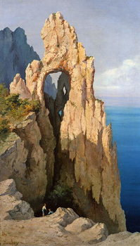 Rocks at Capri Kunsttryk