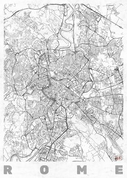 Kaart van Rome