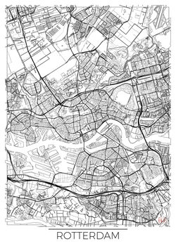 Mapa de Rotterdam