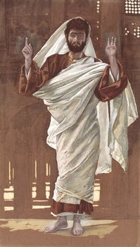 Saint Bartholomew, illustration for 'The Life of Christ', c.1886-94 Reproduction de Tableau