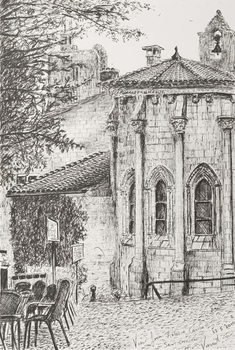 Saint Emilion France, 2010, Kunstdruck