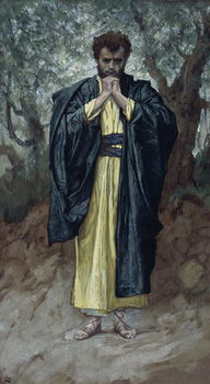 Saint Matthew, illustration for 'The Life of Christ', c.1886-94 Reproduction de Tableau