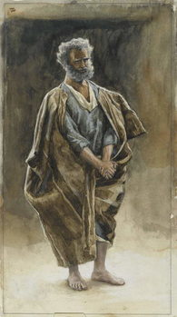 Saint Peter, illustration from 'The Life of Our Lord Jesus Christ', 1886-94 Reproduction de Tableau