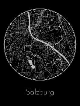 Mapa de Salzburg