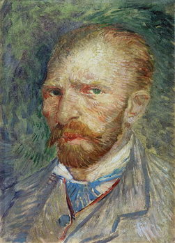 Self Portrait, 1887 Reproduction de Tableau