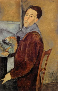 Self Portrait, 1919 Kunstdruk