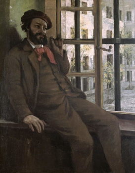 Self Portrait at Sainte-Pelagie, 1871 Kunstdruk