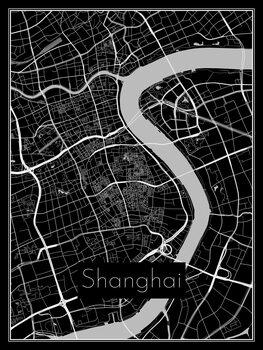 Stadtkarte von Shanghai