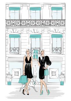 Ilustración Shopping1