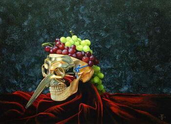 Skull Head, 2008 Kunsttryk