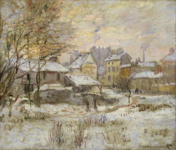 Snow Effect with Setting Sun, 1875 Kunstdruk