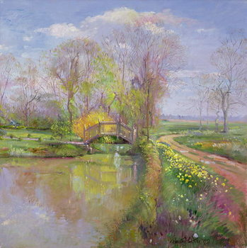Spring Bridge, 1992 Kunstdruk